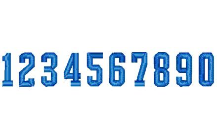 135 数字(アメリカ型)