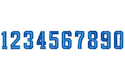 132 数字(球技用角型1)