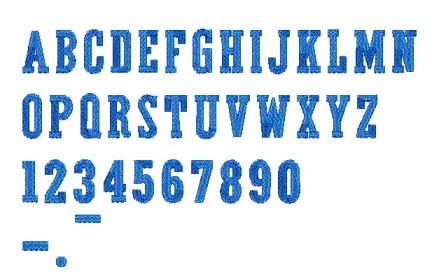 081 活字型T
