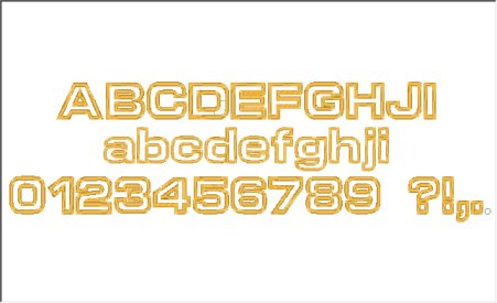 Applique Helvetica