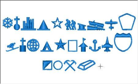 Geographic Symbols