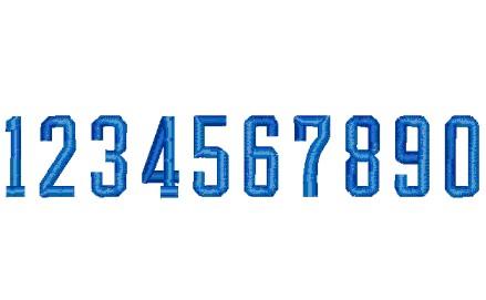 133 数字(球技用角型2)