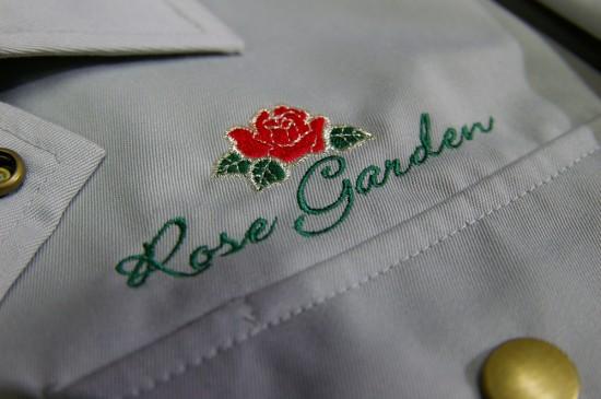 作業着の刺繍例2